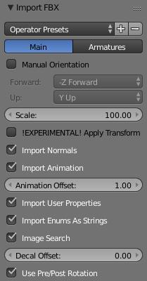 FBX Export from Blender